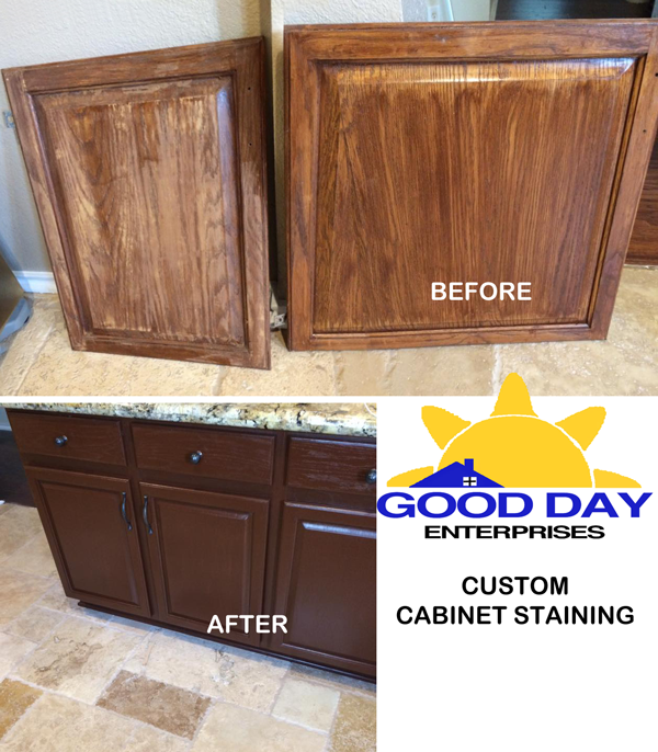Cabinet Restained