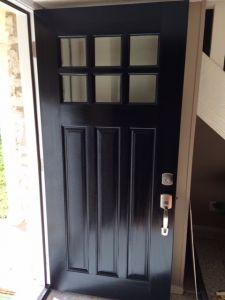 Door Install & Refinish