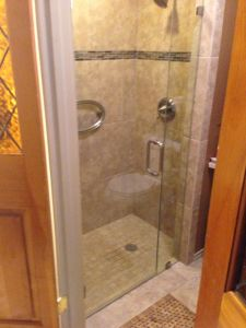 Shower Tiled by Good Day
