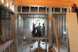 Experts in Framing a new Wall