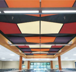 Acoustic ceilings for piano, game, instrument practice, classroom, office spaces, and any room.