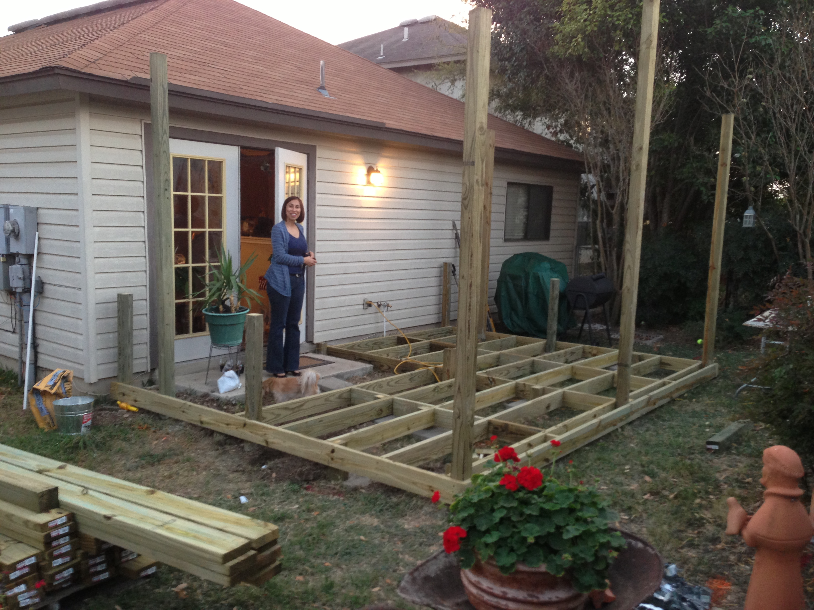 Patio and Deck Installation