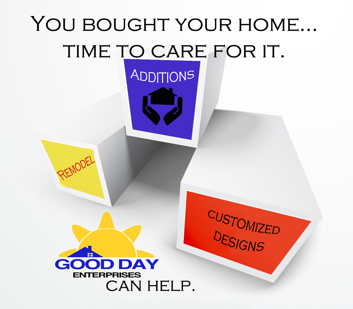 You bought your home. Time to care for it.